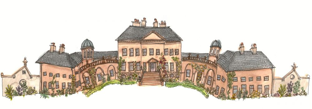 Illustration of Dumfries House